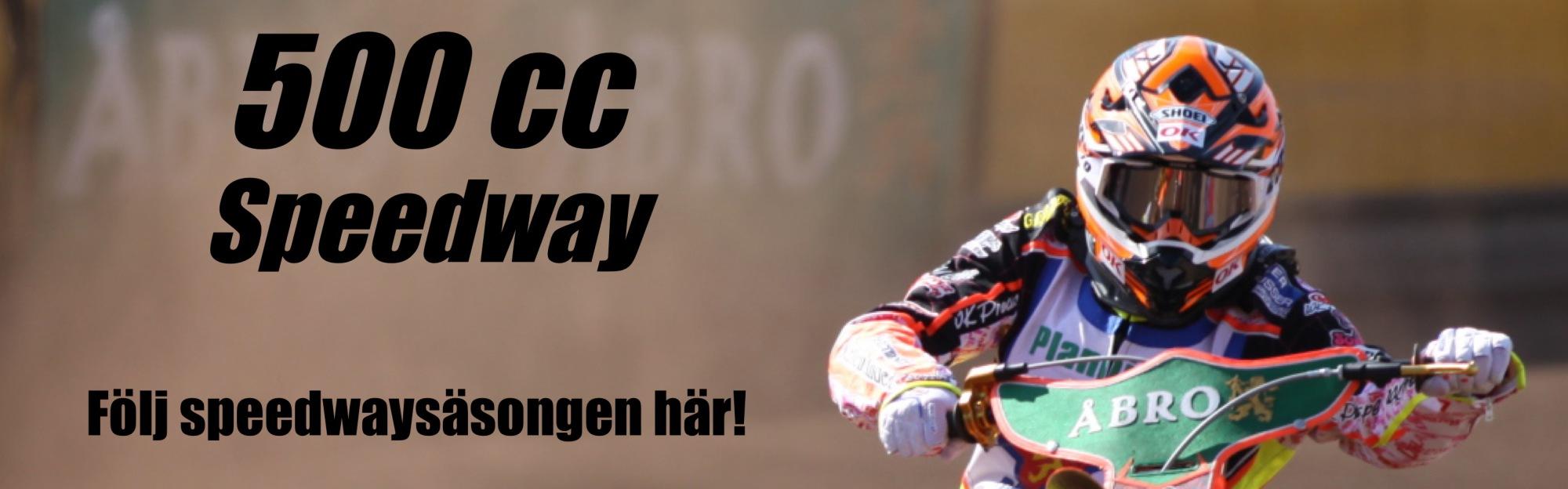 500cc – Speedway